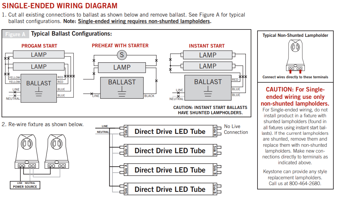 the differences between double ended and single ended led